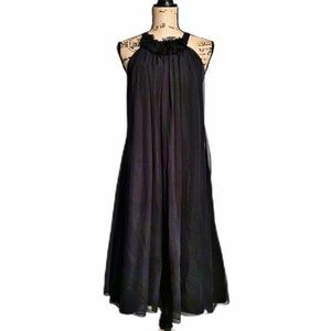 Alvina Valenta Maids Black Dress. NWT